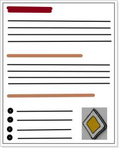 Принцип форматирования текста — иллюстрация к статье