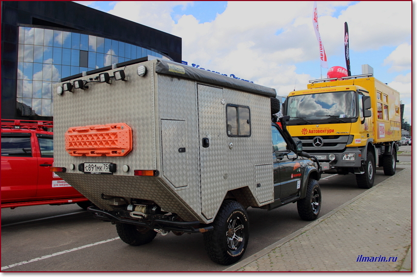 Автодом УАЗ Патриот на Off Road Show-2017