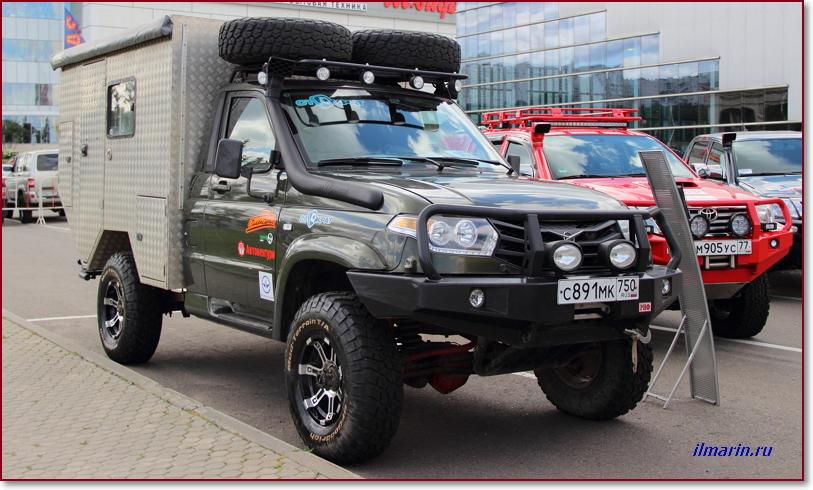 УАЗ Патриот — караван на Off Road Show-2017