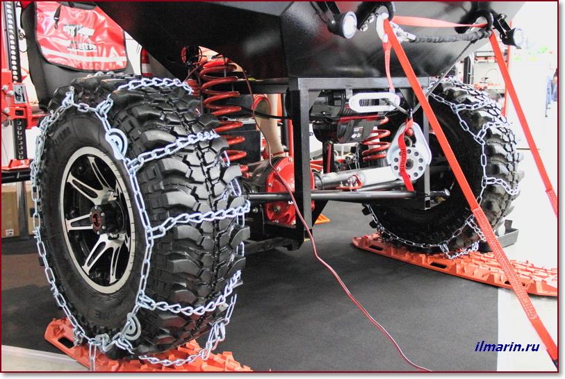 Внедорожные шины, цепи и лебедка на Off Road Show-2017