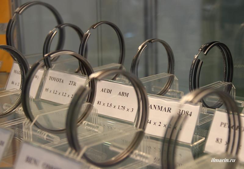 Поршневые кольца на MIMS Автомеханика 2017
