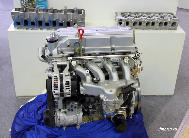 Двигатель на MIMS Автомеханика 2017