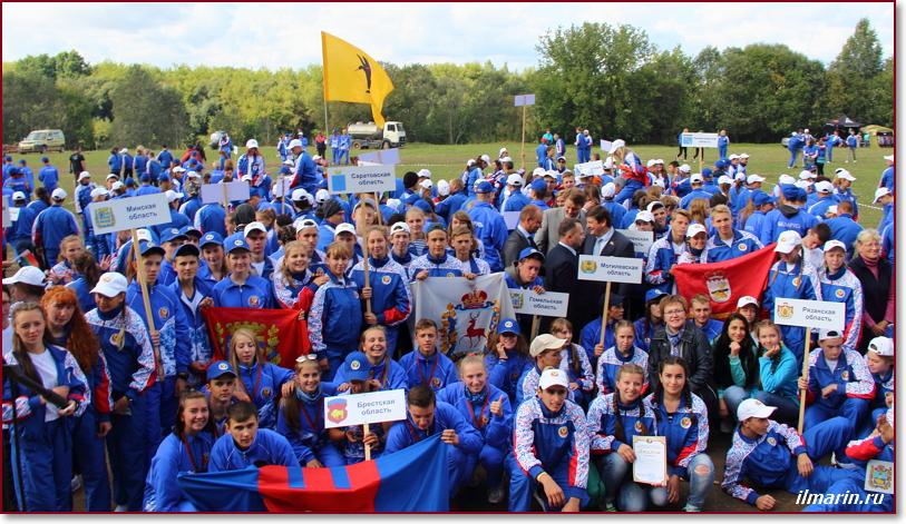 Туристический слет в Беларуси 2017