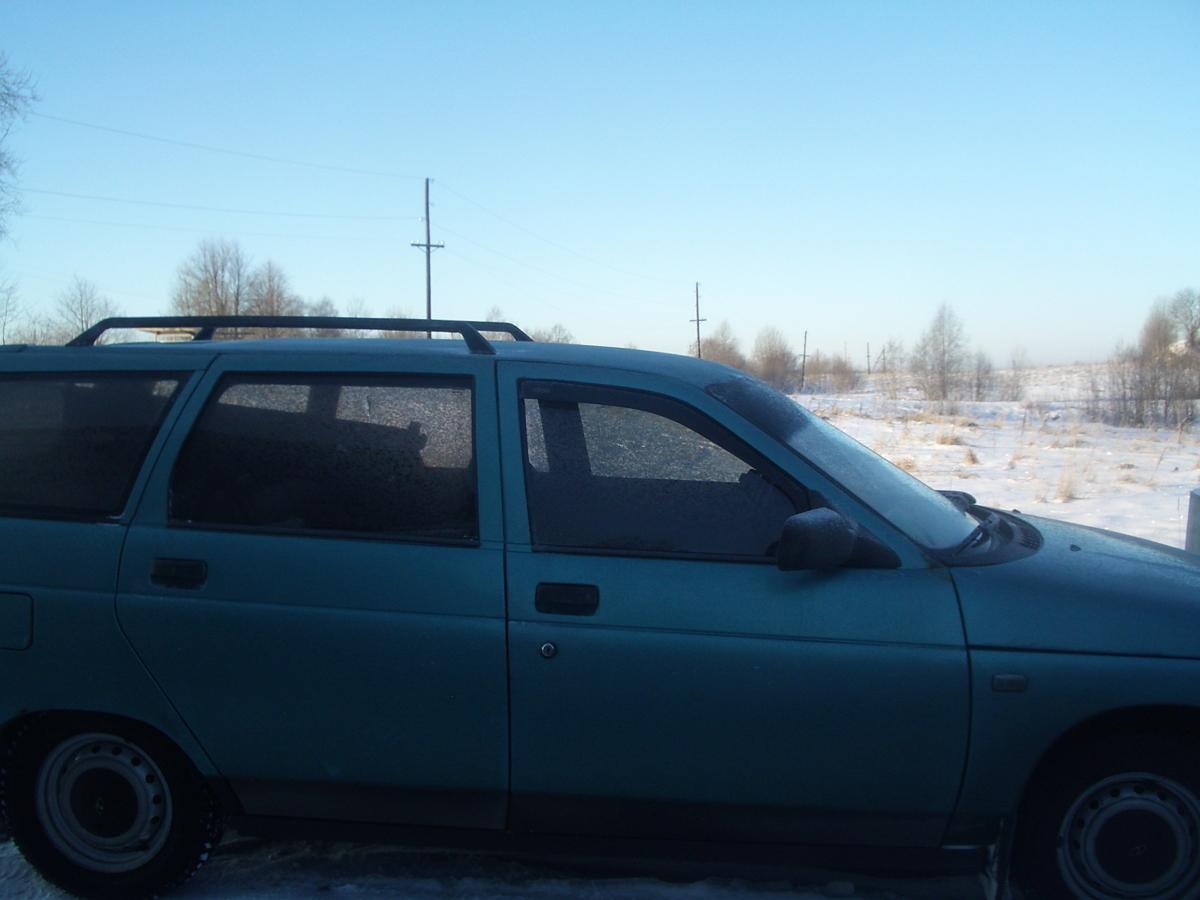 Замерзший ВАЗ. Похождения 2111