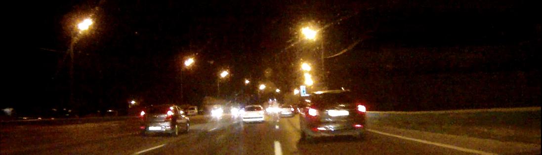 Самарский вояж. Ночная дорога