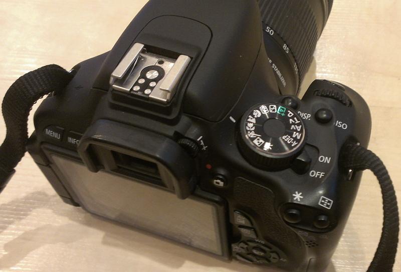 Первый фотоаппарат журналиста