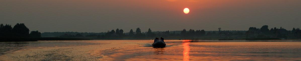 Лодка на закате - похождения 2111
