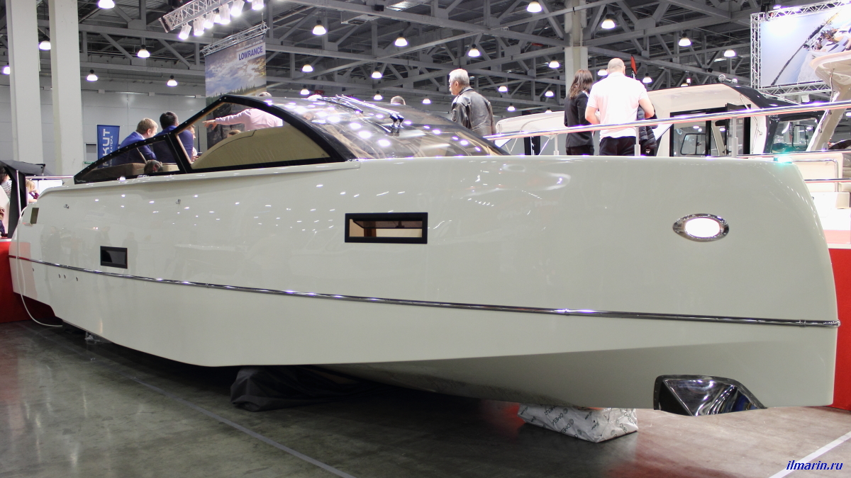 13 Катер Velvette Cruiser 33 Intelligent