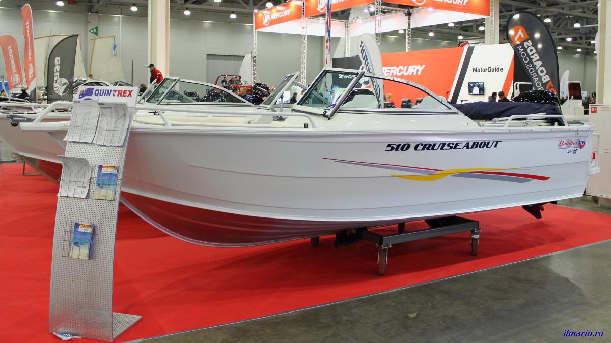 17 Лодка Quintrex 510