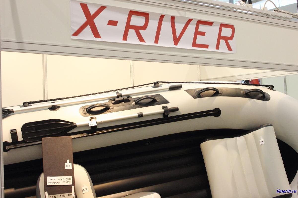 282-ПВХ лодка X-River
