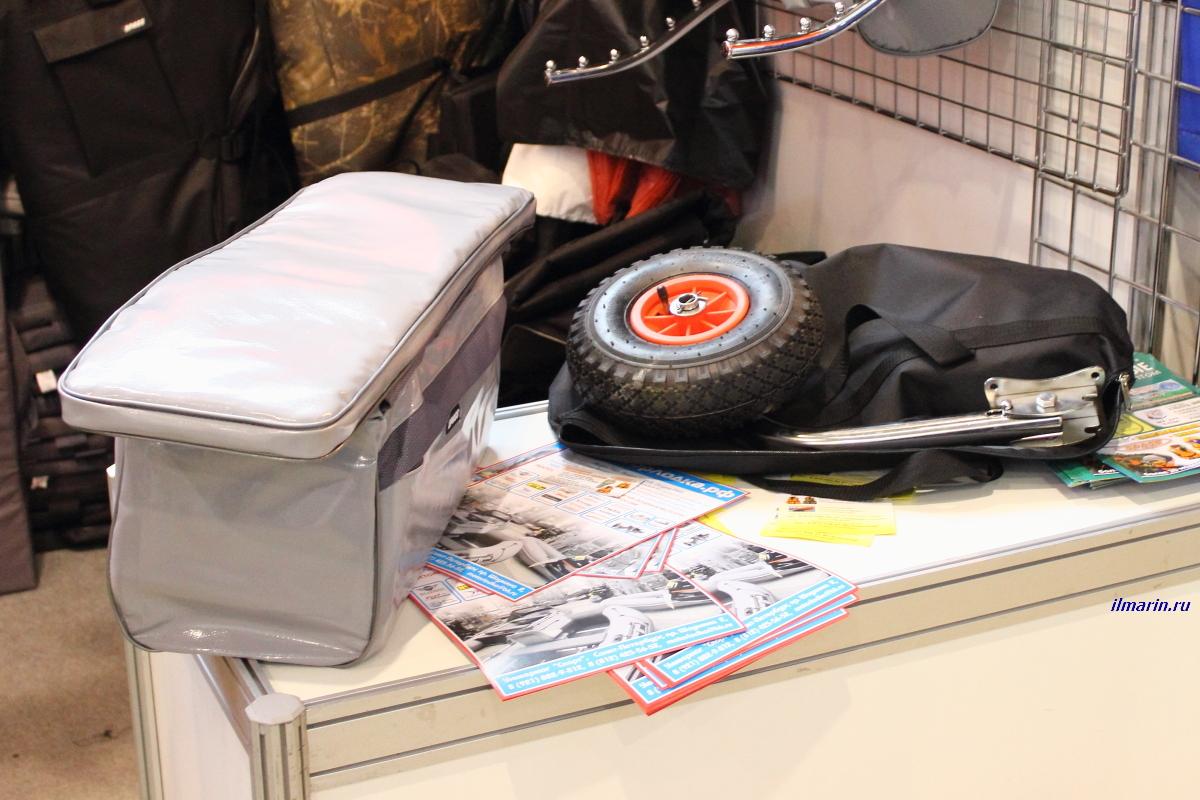 298-Транцевые колеса и сумка на банку