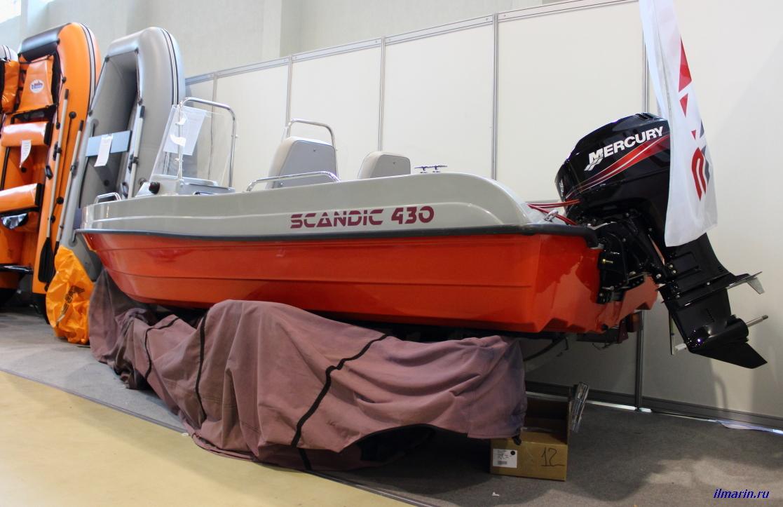 304-Лодка Scandic 430