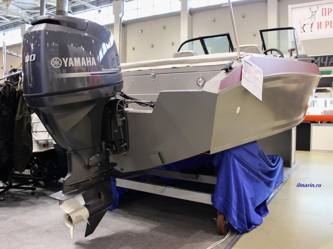 324-Лодочный мотор Yamaha F80