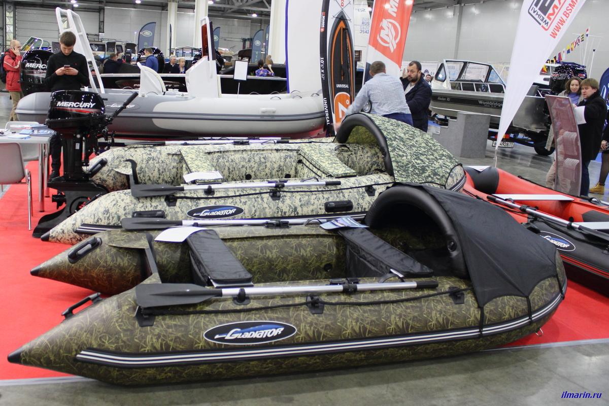 35 Надувные лодки Gladiator