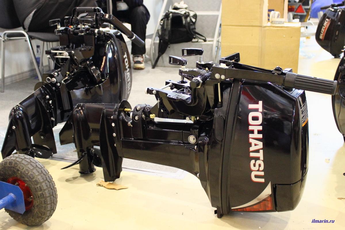 446-Лодочный мотор Tohatsu