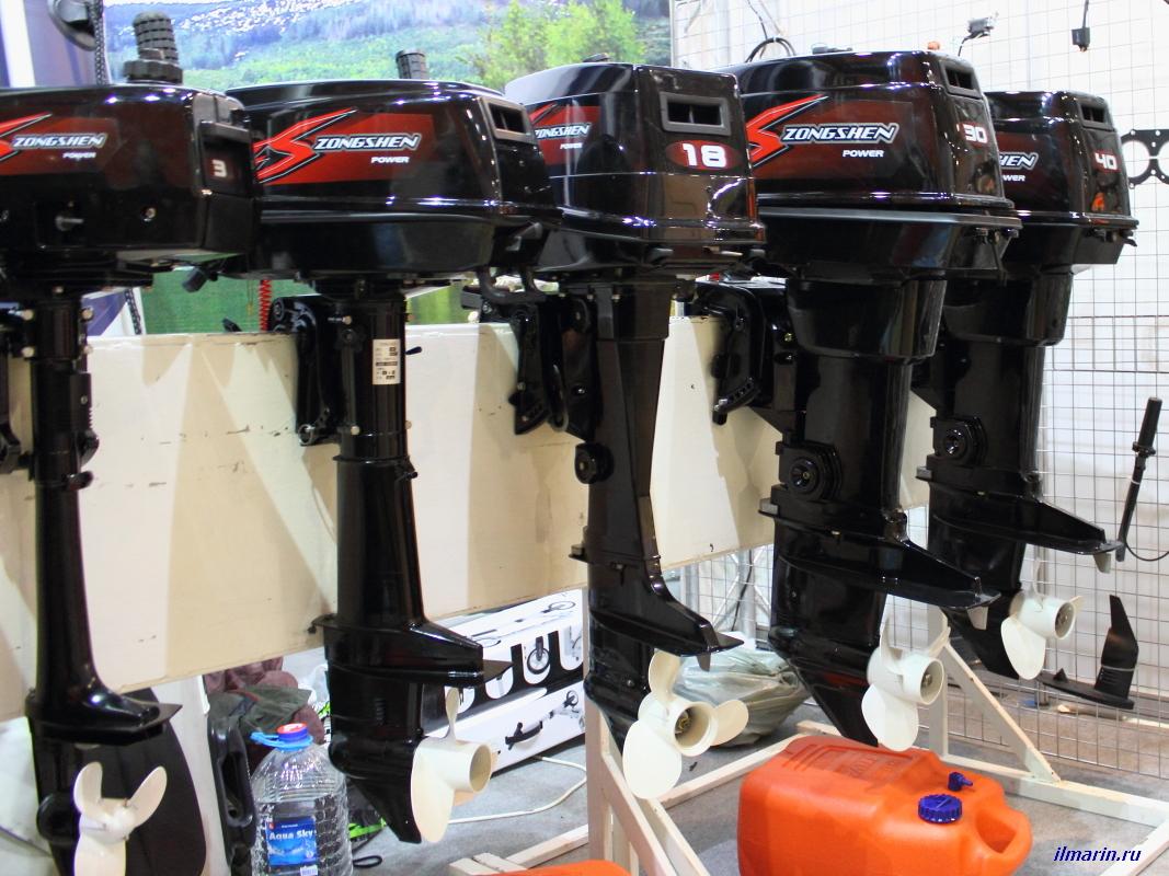 491-Лодочные моторы Zongshen
