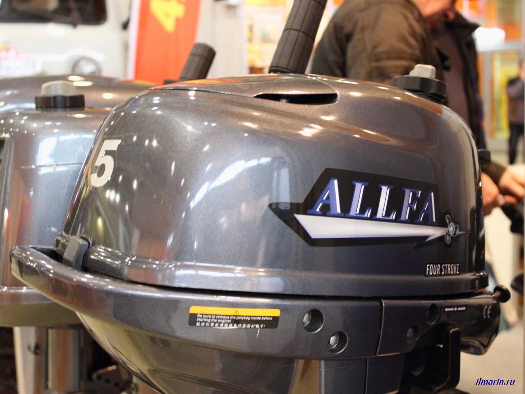 494-Лодочный мотор Allfa