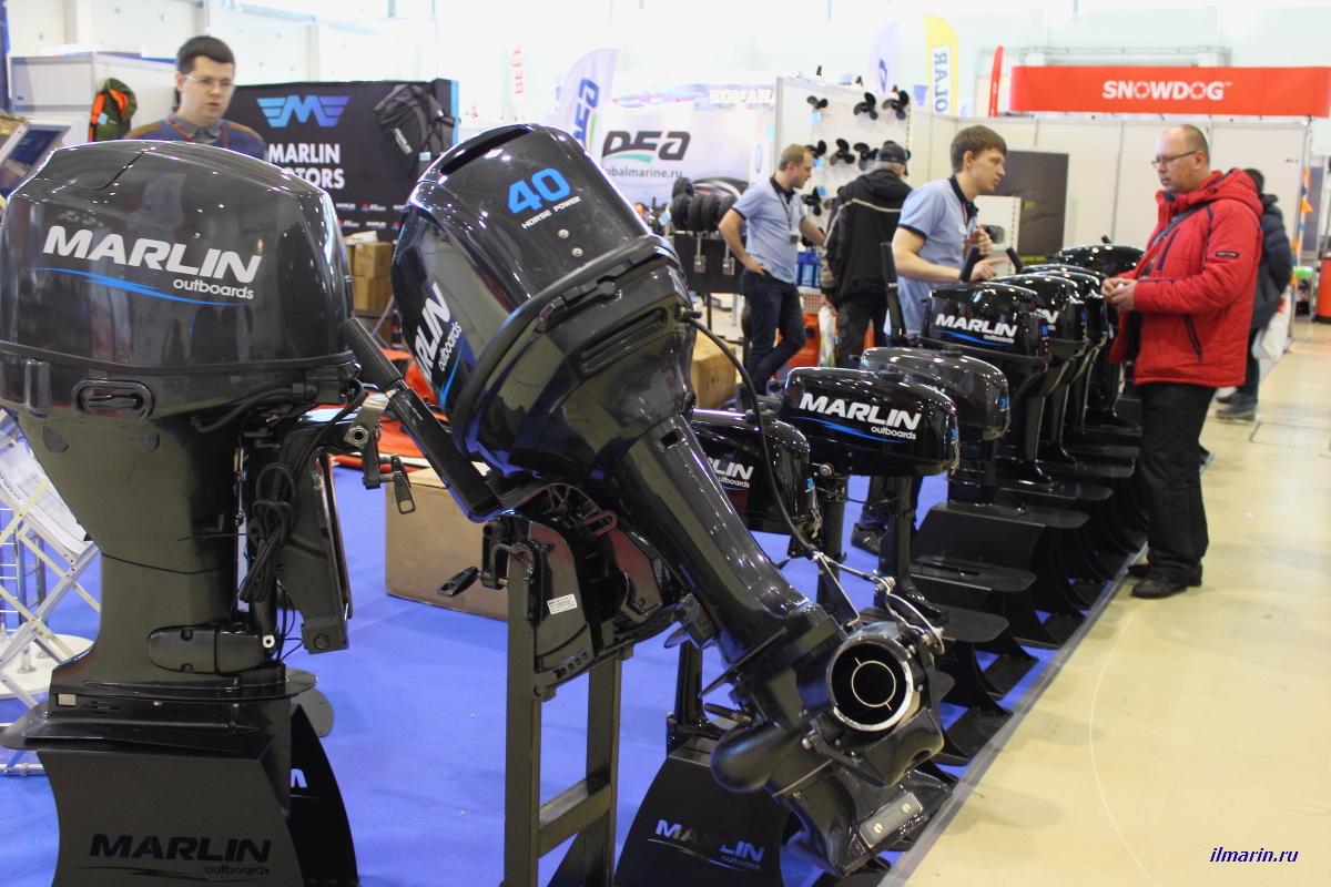 617-Лодочные моторы Marlin