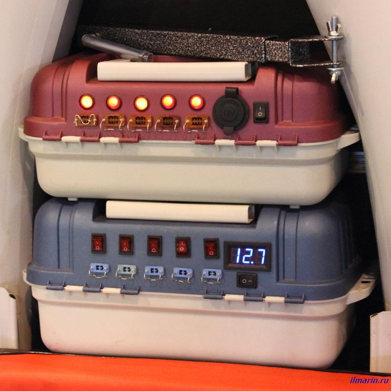 689-Лодочные электрочемоданчики