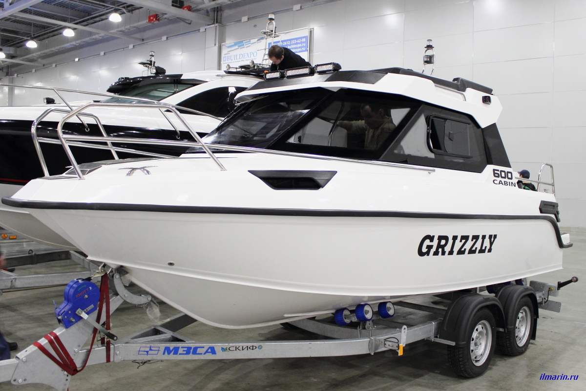 8 Катер Grizzly 600 Cabin